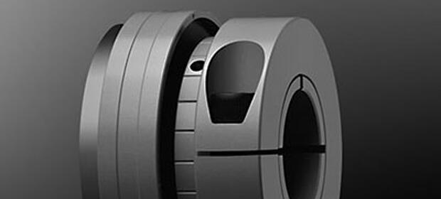 Spielfreie Drehmomentbegrenzer SYNTEX-NC von KTR Systems GmbH