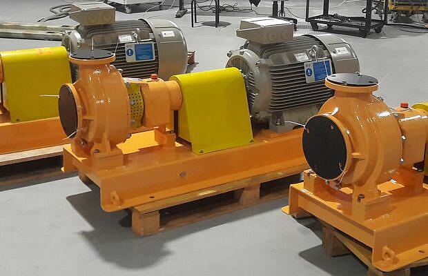 Referenz Pumpen und Kompressoren - Pompe - KTR Systems GmbH