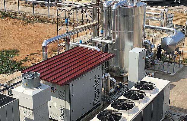 Referenz Pumpen und Kompressoren Rank von KTR Systems GmbH