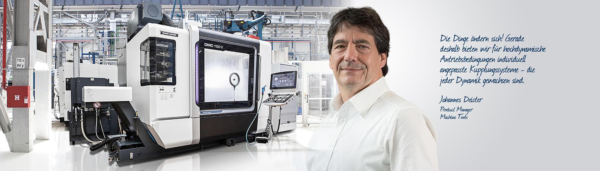 Branche Werkzeugmaschinen - KTR Systems GmbH