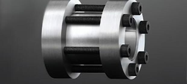 Rigid shaft couplings CLAMPEX KTR 700 by KTR Systems GmbH