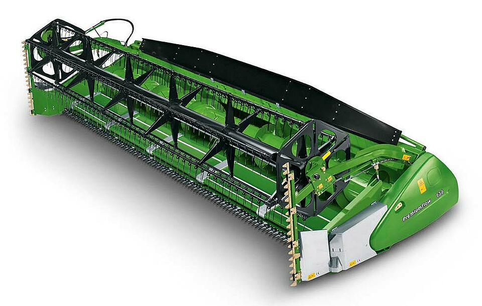 Reference Off Highway Machines and Agriculture Bandschneidwerk Zürn by KTR Systems GmbH