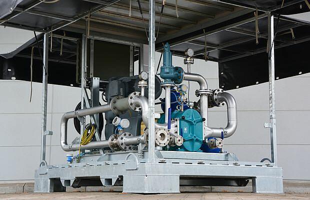 Referenz Pumpen und Kompressoren - Boerger - KTR Systems GmbH
