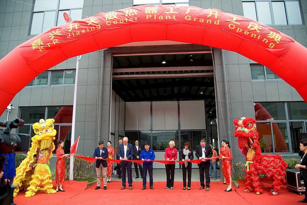 Neues Kuehlerwerk in China von KTR Systems GmbH