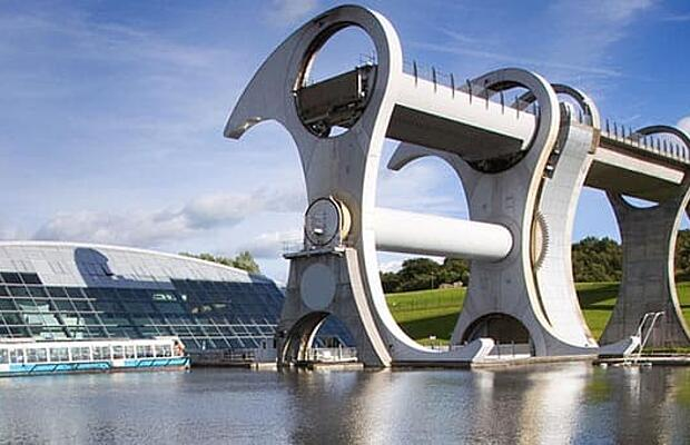 Reference General Drive Technology Denley Hydraulics Falkirk Wheel by KTR Systems GmbH