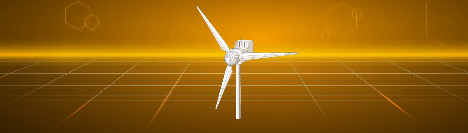 Animation wind power by KTR Systems GmbH