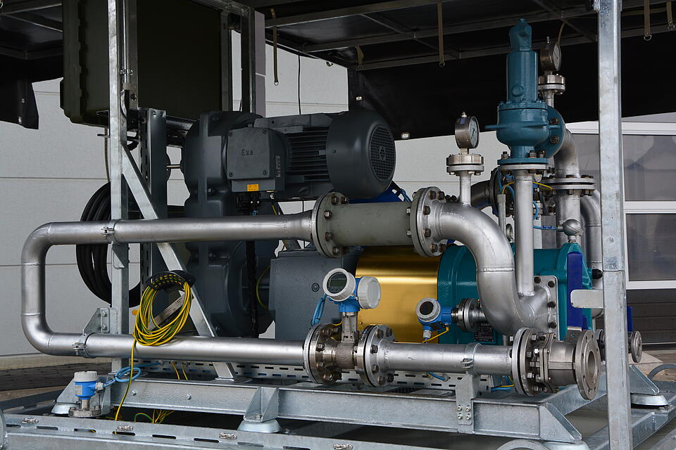 Reference Pumps and Compressors Boerger by KTR Systems GmbH