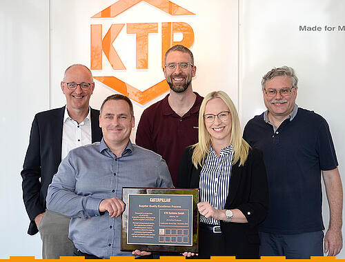 KTR receives award from Caterpillar by KTR Systems GmbH