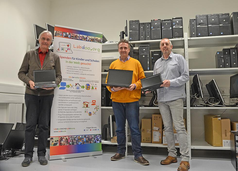 Donation electro devices by KTR Systems GmbH
