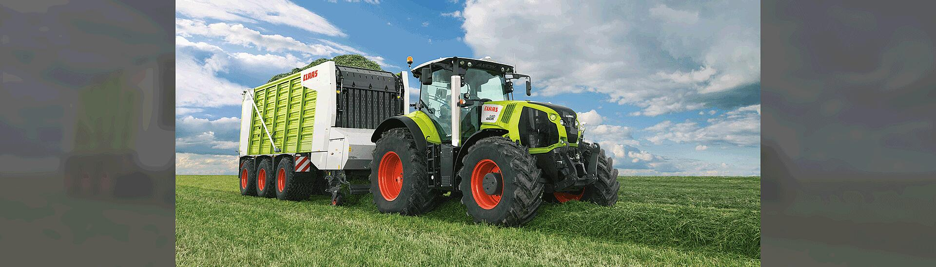 Industry Agricultural machinery by KTR Systems GmbH