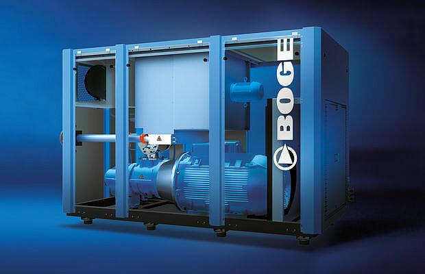 Referenz Pumpen und Kompressoren - Boge - KTR Systems GmbH