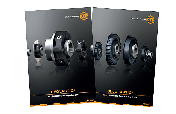 Catalogues SINULASTIC and EVOLASTIC | KTR Systems