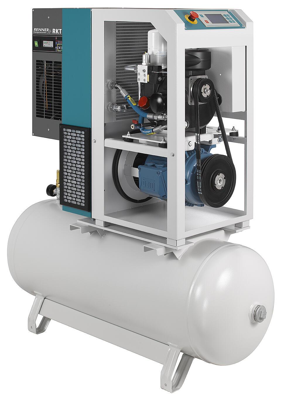 Referenz Pumpen und Kompressoren RENNER von KTR Systems GmbH