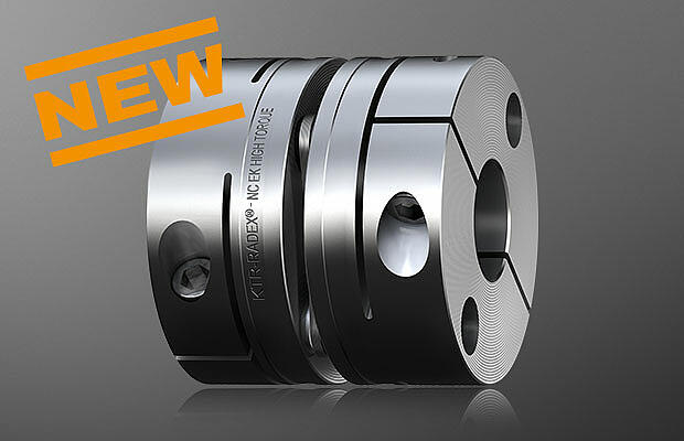 Backlash-free servo couplings RADEX-NC HT by KTR Systems GmbH