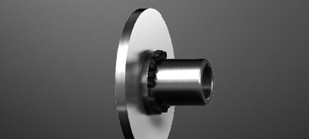 Combination of hub and brake disk KTR-STOP NBS by KTR Systems GmbH