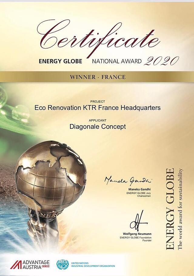 KTR France - Green Company - KTR Systems GmbH