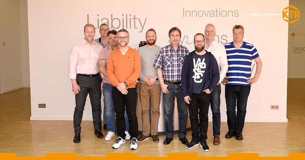 Select Training at KTR with Momentum by KTR Systems GmbH