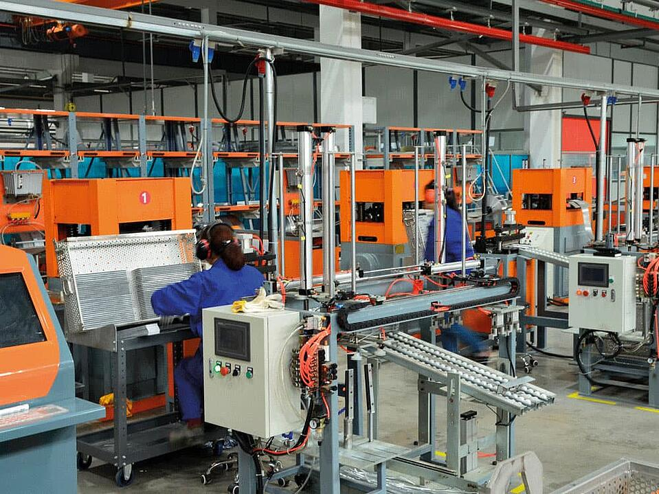 Cooler production plant KTR Systems