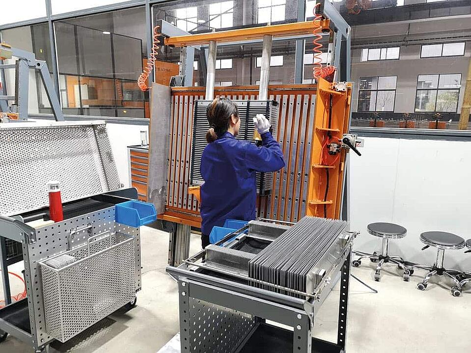 KTR cooler production plant in China