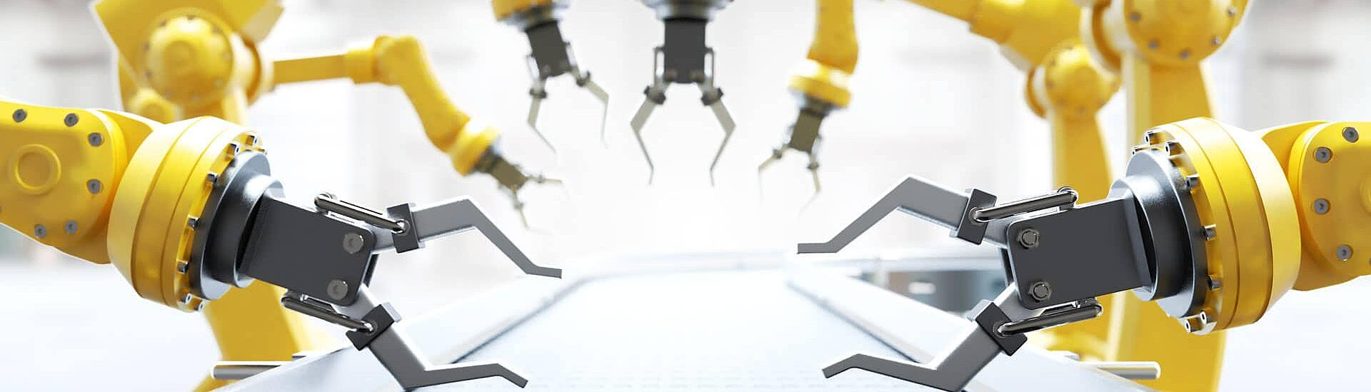 Automation - industry roboter uses KTR components