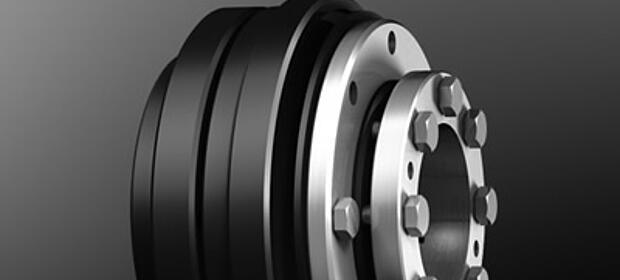 Spielfreie Überlastsysteme KTR-SI Compact von KTR Systems GmbH