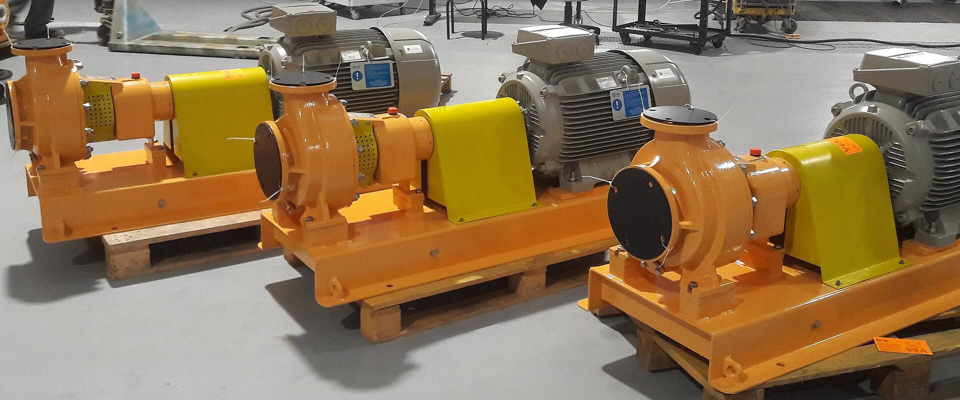 Pumps and Compressors C.D.R. by KTR Systems GmbH
