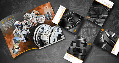 Product catalogues from KTR