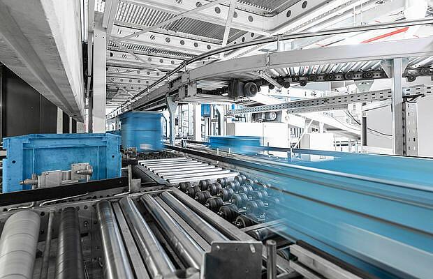 industry Indoor Material Handling - KTR Systems GmbH