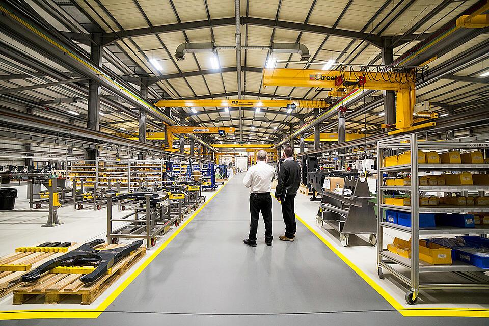 Referenz Werkzeugmaschine Heller von KTR Systems GmbH