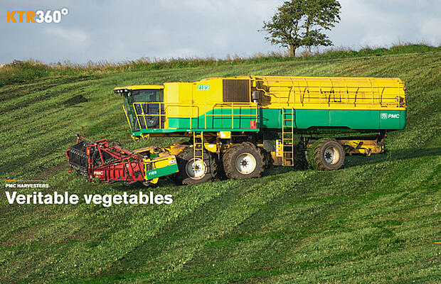 Reference Agriculture PMC Harvesters by KTR Systems GmbH