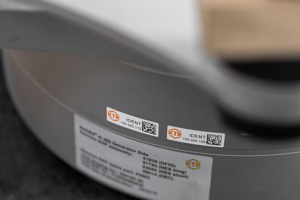 KTR Ident Barcodes von KTR Systems GmbH
