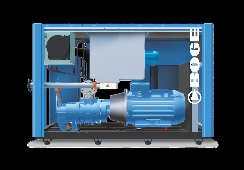Reference Pumps and Compressors Boge by KTR Systems GmbH