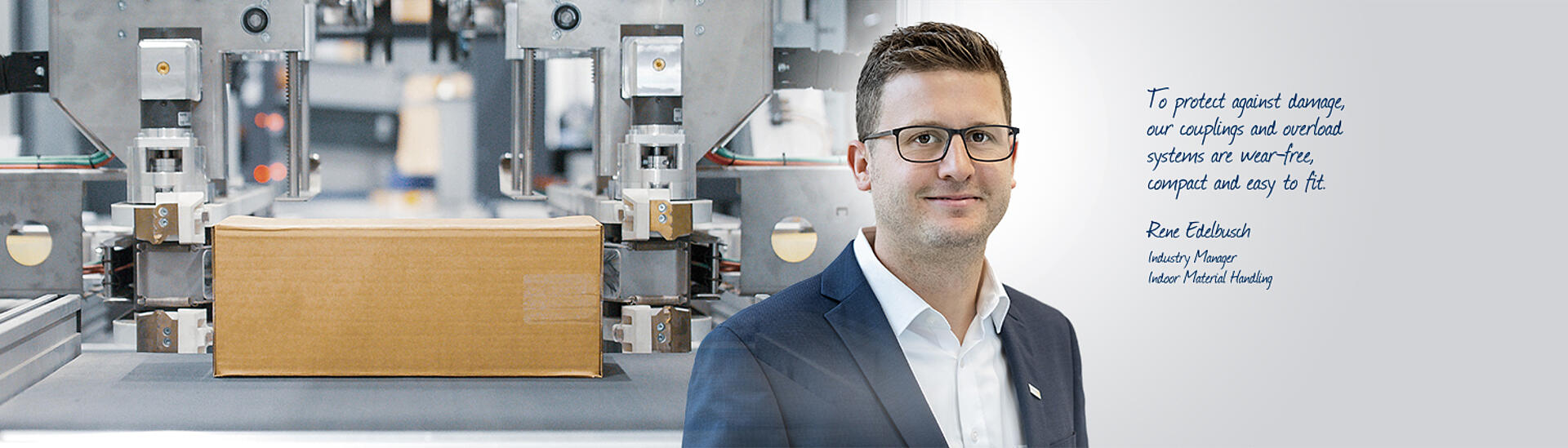 Contact person - industry Indoor Material Handling – KTR Systems GmbH