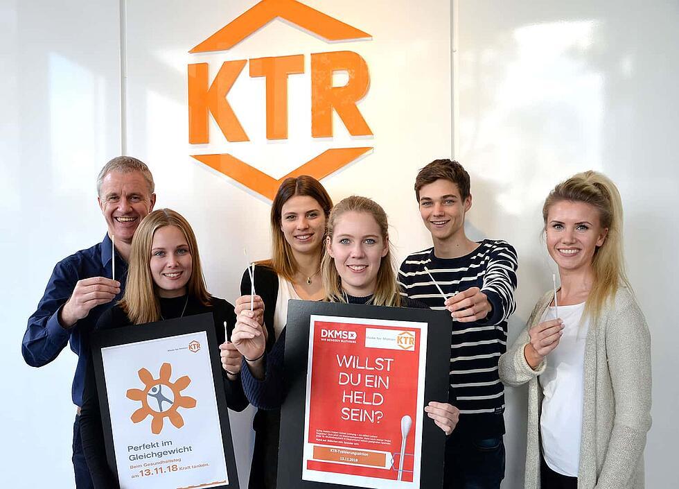 Gesundheitstag bei KTR von KTR Systems GmbH