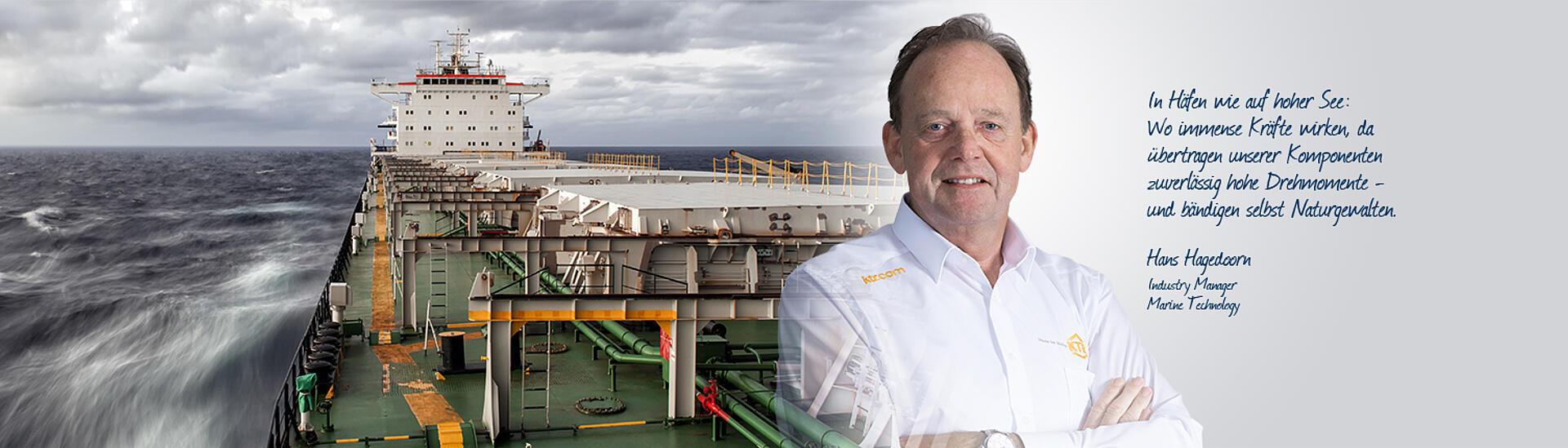 [Translate to Deutsch:] Marine technology - KTR Systems GmbH