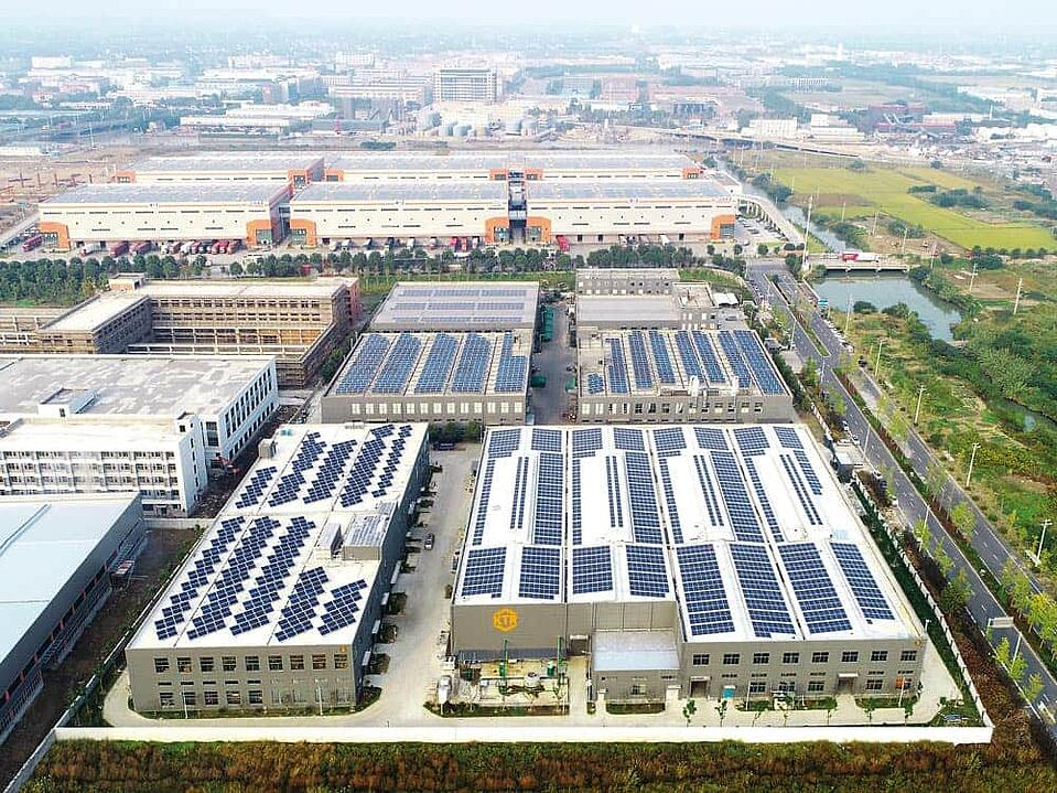 KTR cooler production plant in Jiaxing, China