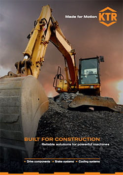 KTR components for construction machines