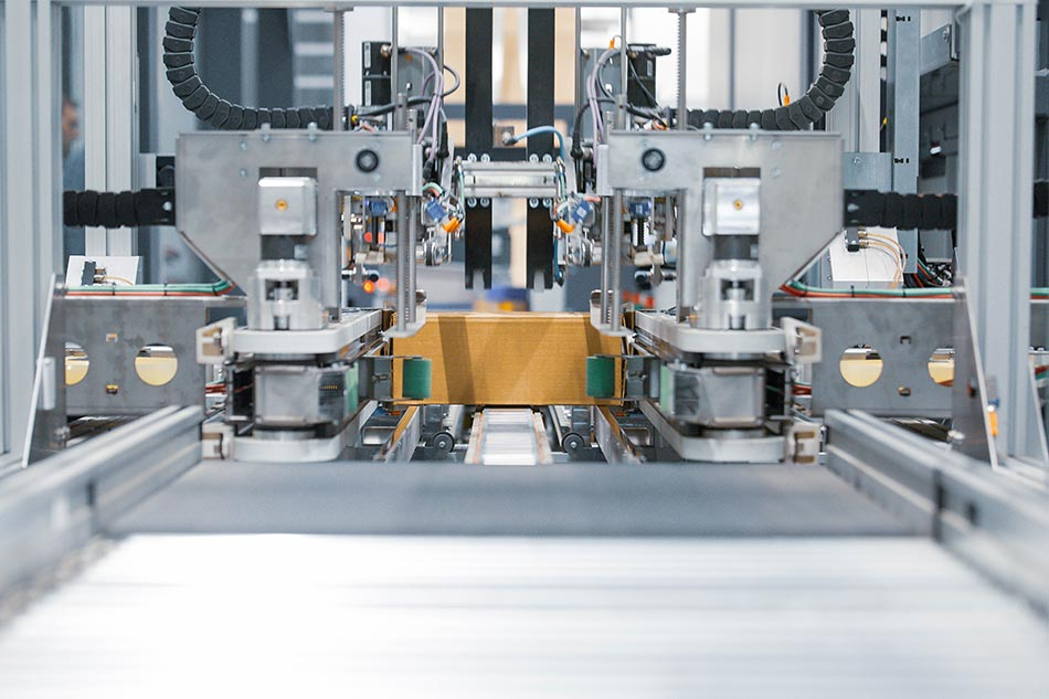 In-Haus-Foerdertechnik Neopost von KTR Systems GmbH