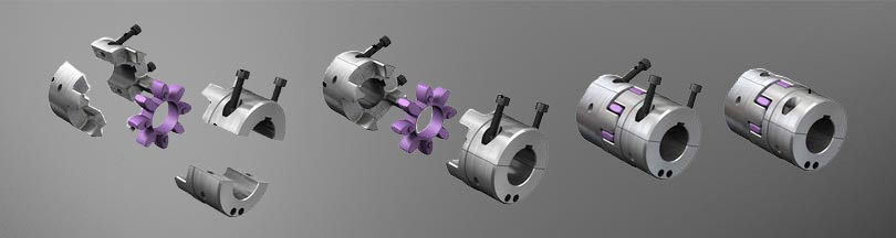 Kupplung ROTEX Split - KTR Systems GmbH