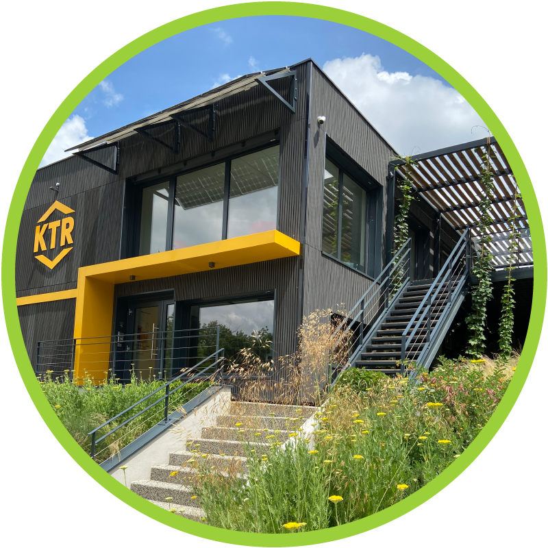 Nachhaltigkeit - Green Company - KTR Systems GmbH