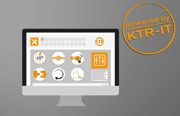 KTR Online-Tools Screen by KTR Systems GmbH