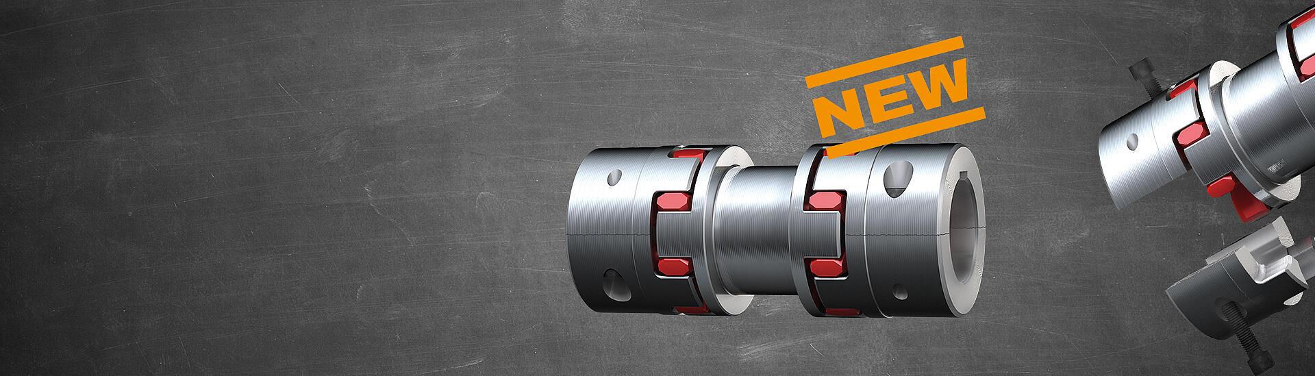 ROTEX ZS-DKM-SH mit geteilten Naben   KTR Systems