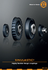 SINULASTIC brochure English - hihgly flexible couplings | KTR