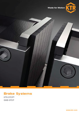 Catalogue Brake systems English by KTR Systems GmbH