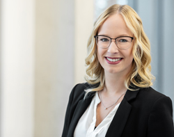 Produktmanagerin EVOLASTIC Marie Maier | KTR Systems