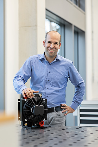 Hendrik Stroet - Technical support for oil/air coolers